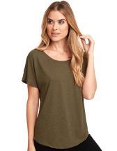 Ladies` Tri-Blend Dolman-T-Shirt