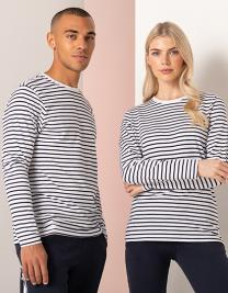 Unisex Long Sleeved Striped T